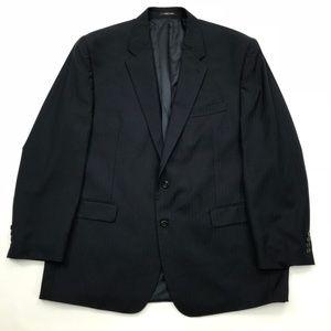 Ralph Lauren 2 button sport coat pinstripe 48L